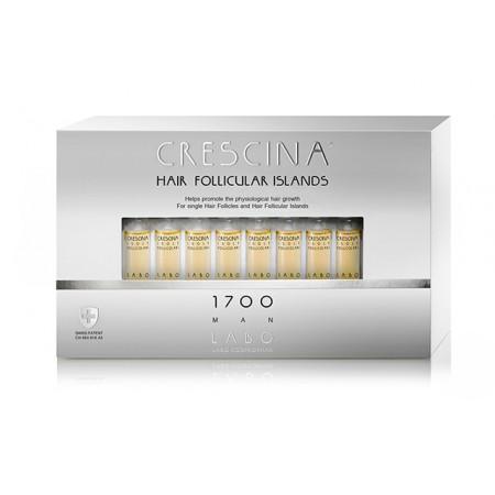Лосьон для стимуляции роста волос для МУЖЧИН Crescina HFI 1700 / 10 ампул