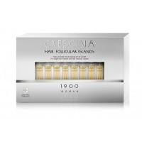 Лосьон для стимуляции роста волос для ЖЕНЩИН Crescina HFI 1900 / 40 ампул