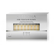 Лосьон для стимуляции роста волос для МУЖЧИН Crescina HFI 2100 / 10 ампул