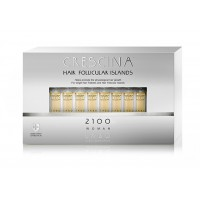 Лосьон для стимуляции роста волос для ЖЕНЩИН Crescina HFI 2100 / 20 ампул