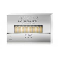 Лосьон для стимуляции роста волос для ЖЕНЩИН Crescina HFI 2100 / 10 ампул