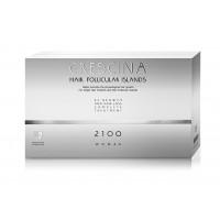 Комплекс для лечения выпадения волос для ЖЕНЩИН Crescina HFI 2100 / 10 + 10 ампул