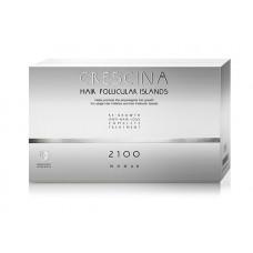 Комплекс для лечения выпадения волос для ЖЕНЩИН Crescina HFI 2100 / 20 + 20 ампул