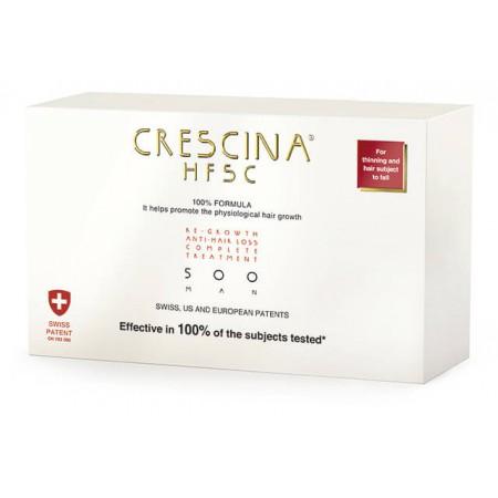Комплекс для лечения выпадения волос для МУЖЧИН Crescina HFSC 500 / 10 + 10 ампул
