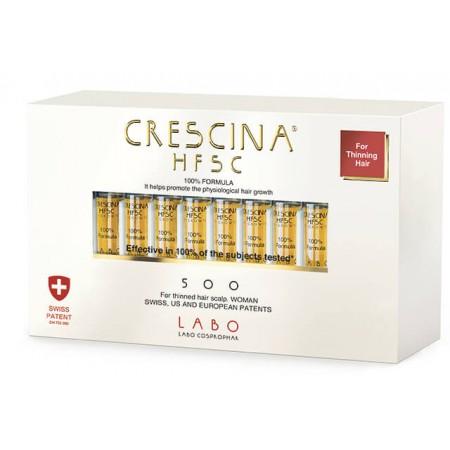 Лосьон для стимуляции роста волос для ЖЕНЩИН Crescina HFSC 500 / 10 ампул