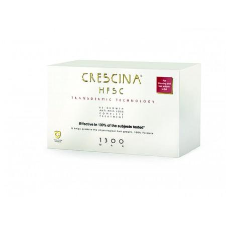 Комплекс для лечения выпадения волос для МУЖЧИН Crescina Transdermic HFSC 1300 / 20 + 20 ампул