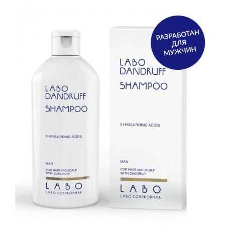 Шампунь против перхоти для МУЖЧИН Labo Dandruff shampoo-3HA