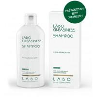 Шампунь дляжирныхволосикожиголовы для ЖЕНЩИН Labo Greasiness shampoo-3HA