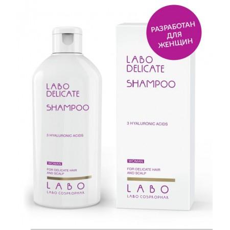 Шампунь для чувствительной кожи головы для ЖЕНЩИН Labo Delicate shampoo-3HA
